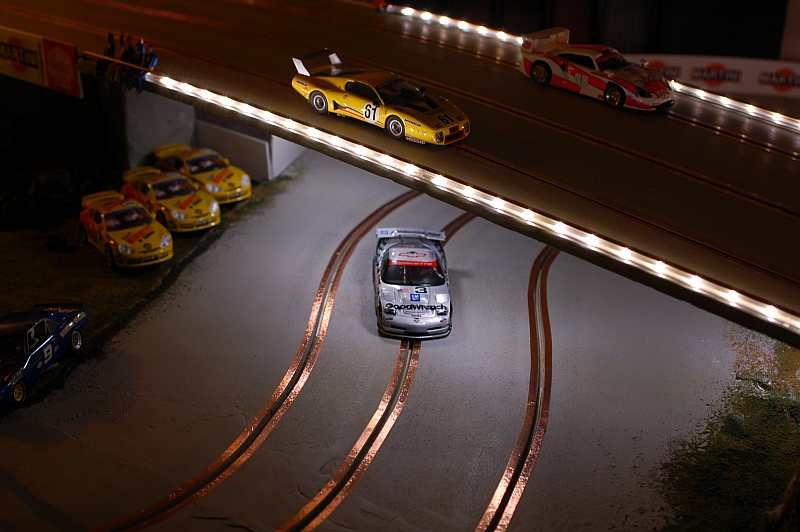 Slot car track lighting building of a slot car track by michael nyberg aloadofball Images